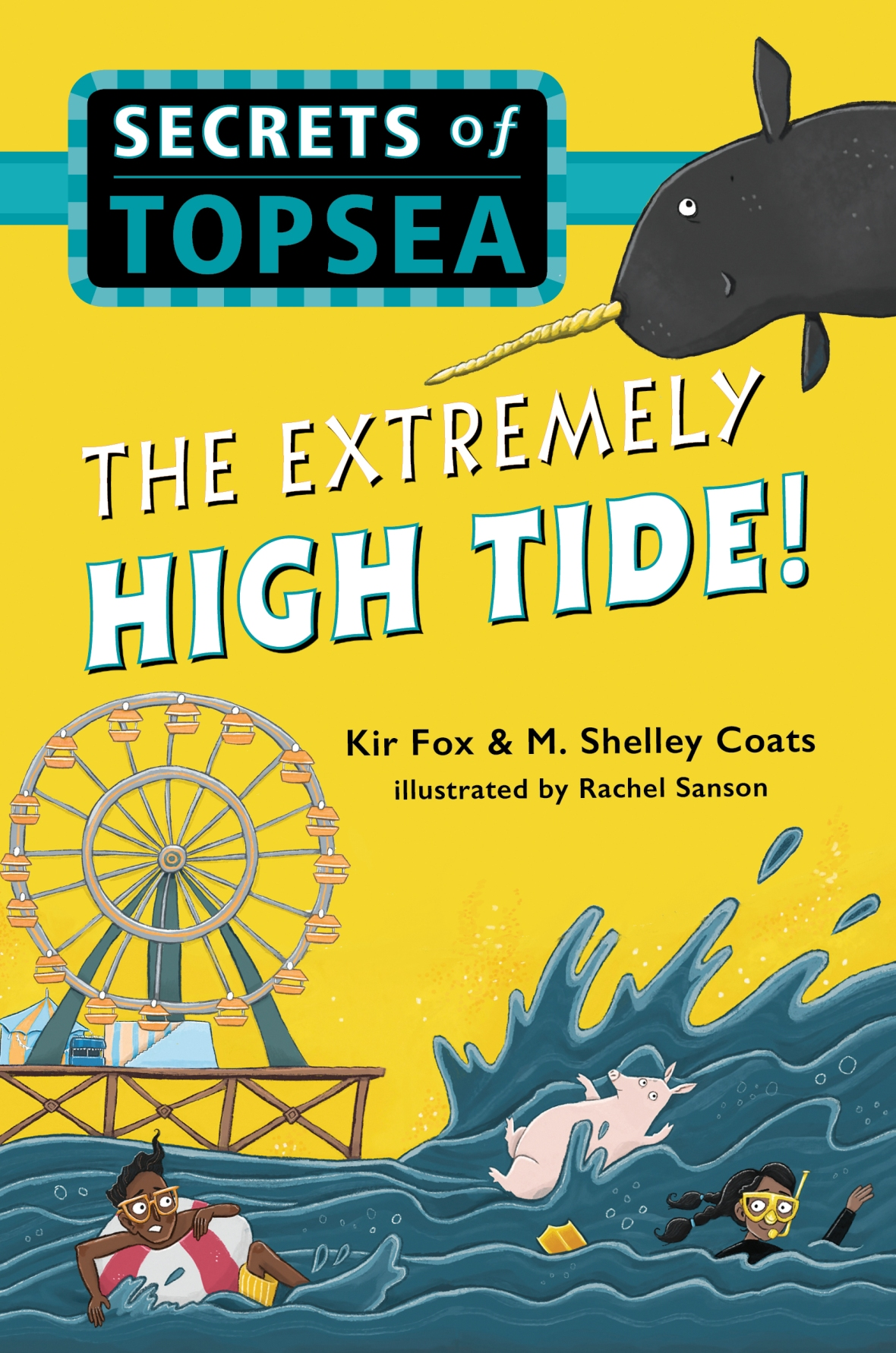 extremely high tide